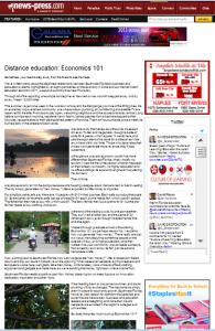 Distance education 101